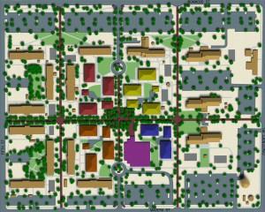 Davis Monthan AFB Dormitory Area Plan