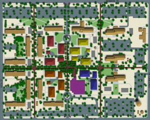 Davis Monthan AFB Dormitory Area